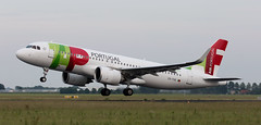 A320 | CS-TVD | AMS | 20190618 (Wally.H) Tags: airbus a320 a320neo cstvd tapairportugal transportesaéreosportugueses ams eham amsterdam schiphol airport