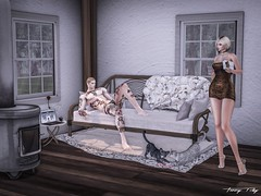 Waiting For You... (Tonny Rey) Tags: senseevent event woman clothing shoes bag collar furniture rings tattoo deco house kib sheba poisonrouge kunglers tmcreation vegas