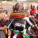 Rendille village woman dance