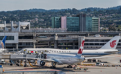 swiss airlines air china codeshare flights (pbo31) Tags: sanfranciscointernational sfo sanmateocounty color airport airline travel aviation bayarea california nikon d810 june 2019 boury pbo31 plane flight over boeing 777 747 airchina swiss hotel construction sanbruno terminal gate hyatt place
