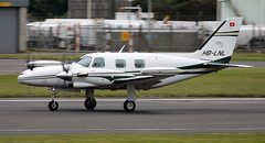 HB-LNL (PrestwickAirportPhotography) Tags: egpk prestwick airport piper pa31 hblnl