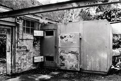 Abandoned lab (a.pierre4840) Tags: olympus om3 zuiko 35mmfilm 35mm f2 kosmofotomono100 bw blackandwhite noiretblanc abandoned derelict ruined decay urbex dorset england
