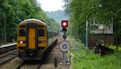 158903 & 158845 - Hebden Bridge, Yorkshire (The Walsall Spotter) Tags: hebdenbridge railway station yorkshire class158 express sprinter dmu 158903 158845 multipleunit britishrailways networkrail