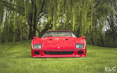 Ferrari F40 (ELC Photo) Tags: supercars supercar spotting spotter spotters shooting automobile amg european elc exclusive exposition hypercar hypercars lumix luxury photography wallpaper world cars car club coffee italy brescia michelin ferrari f40