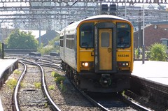 1 of the 7 that got away! (The Walsall Spotter) Tags: class155 sprinter dmu 155346 leeds railway station northernrail yorkshire