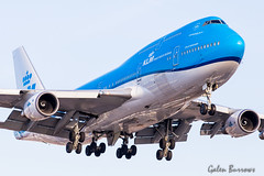KLM 747 (galenburrows) Tags: aviation aircraft airplane flight flying boeing 747 747400 klm cyyz yyz toronto