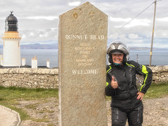 At the Top of Great Britain (Mary&Neil) Tags: elements scotland motorcycle biking