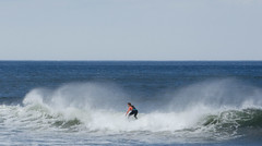 Cutting a path (ashokboghani) Tags: surfer plumisland massachusetts newengland atlanticocean