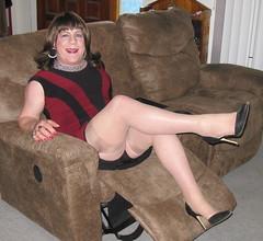 😁 (ShaeGuerin) Tags: girly ladylike classy cougar legs leggy stockings highheels cfmshoes stilettos sensual seductive sexy fuckable boobs milf tilf gilf wig brunette portrait crossdresser crossdressing genderqueer nails lips tgirl transvestite transgender tranny trannybabe tv cd mature gurl tgurl mtf m2f xdresser tg trans travesti manicure lipstick pretty cute feminized fashion enfemme feminised femme feminine makeover makeup cosmetics passable dressedasagirl crossdressed crossdress boytogirl