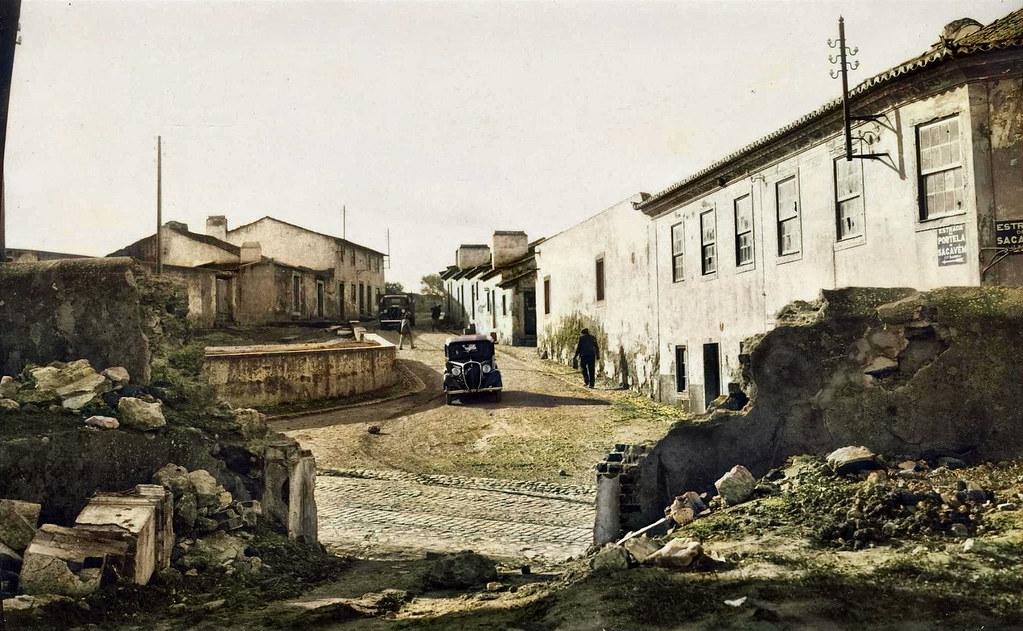Portela de Sacavém (Fototipia animada: original de E. Portugal, 1938)