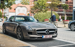 Mercedes SLS AMG (ELC Photo) Tags: supercars spotting supercar spotter spotters shooting cars car coffee knokke 2018 hypercar hypercars photography automobile zoute european elc luxury lumix panasonic world wallpaper mercedes benz amg sls