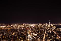 New York (popz.photographie) Tags: newyork city night lights oneworldtradecenter longexposure usa travel holidays inspiration landscape