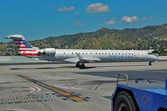 American CRJ-900ER N934FJ (skyhawkpc) Tags: bur kbur copyright allrightsreserved verver americanairlines bombardier crj900er 15034 n934fj bobhopeairport burbank ca 2017 airline airliner aviation aircraft americaneagle