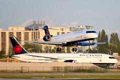 CYVR - Air Canada Express Bombardier CRJ-900 C-FKJZ (CKwok Photography) Tags: yvr cyvr crj900 cfkjz aircanadaexpress