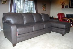 5000 Series Sectional Sofa (Brian's Furniture) Tags: cleveland furniture store high quality 5000 series sectional sofa 5371 laf raf chaise tapered leg espresso finish track arm no t cushion semi attached back made order build your own smith brothers berne leather 2711 dark grey daugherty po1717182
