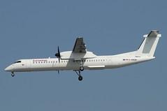 D-ABQN (LIAM J McMANUS - Manchester Airport Photostream) Tags: dabqn eurowings ew ewg luftfahrtgesellschaftwalter walter he lgw bombardier dh4 dh8d dhc8400 dash8400 q400 man egcc manchester