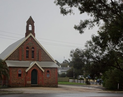 Kapunda. A former copper mining town. This Anglican parish Hall was built in the 1920s near the 1856 Christ Church building.