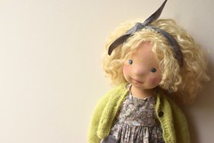 "Brianna 17"" Natural Fibre Art Doll by Waldorfdollshop (Waldorfdollshop) Tags: artdoll waldorfinspired naturalfibreartdoll"