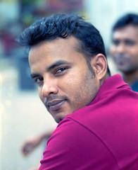 Ahad (Peter Looker) Tags: mamiya rz67 film kodak portra portra400 bangladeshi worker singapore streetportrait portrait sekor 110mm f28