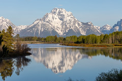 Mount Moran Reflection at Oxbow Bend (Photomatt28) Tags: grandtetonnationalpark oxbowbend travel reflection unitedstatesofamerica trips wyoming moran