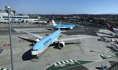 #SanFrancisco #internationalAIRPORT #SFO (Σταύρος) Tags: sanfrancisco sfo internationalairport airplane jet parked ksfo koreanair iphone7plus airport 777 boeing777 klm