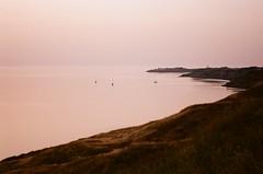 Sospesi tra mare e cielo (michele.palombi) Tags: south calabria beforesunrise riflessi heralacinia film35mm analogic sunrise crotone