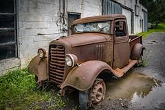 Abandoned  Truck in Charmco (Explored) (Bob G. Bell) Tags: oldtruck truck antiquetruck charmco abandoned bobbell nikon d750