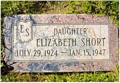 Postcrossing US-6088555 (booboo_babies) Tags: elizabethshort theblackdahlia grave gravestone museumofdeath museum cemetery postcrossing truecrime