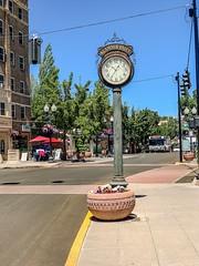 "Main Street, Klamath Falls, Oregon:  ""Klamath Falls Observatory Time Clock."" (lhboudreau) Tags:"