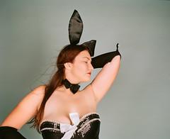 000428750009 (chriswilson.photos) Tags: playboy bunny pinup model analog kodak portra mamiya rb67 mediumformat
