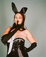 000428750010 (chriswilson.photos) Tags: playboy bunny pinup model analog kodak portra mamiya rb67 mediumformat
