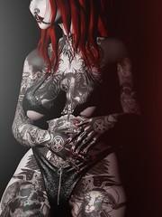 Diva Satanica (marduklust resident) Tags: sl avatar second life dae fangs marduklust dappa asteroidbox equal10 suicidal unborn su asteroid box frou access