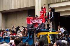 Raptors Victory Parade (Bob (sideshow015)) Tags: nba champions toronto victoire défilé ontario canada raptors basketball nikon d7100 victory parade