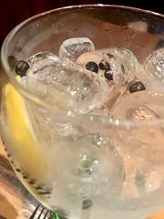 Gin tonic at Bar da Dona Onça (grassit) Tags: macro close drink gintonic brazilianbar donaonça drinkpic bardadonaonça shotwithiphone