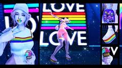 ❀ !!! Pride !!! ❀ (Nicolas Baryl) Tags: leluck neon dal boom justbecause toodles glutz alive ama blackfair emarie ebento girlpower palette reign sayo sugasuga thisiswrong zombiesuicide