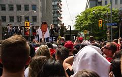 Raptors victory Parade (Bob (sideshow015)) Tags: toronto victory parade ontario canada raptors basketball nikon d7100 victoire défilé