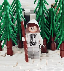 Simo Häyhä - The White Death (brickhistorian) Tags: finland sisu army brick bricks build building battle brickmania sticker pack custom customs eastern europe elite fig history infantry lego legos minifig minifigure moc military marksman photo russia soviet sniper sniping specops specop special two veteran ww2 world war wwii warfare snow winter