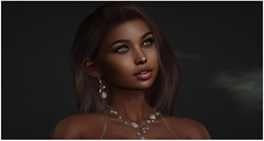 Olivia (Sivyaleah (Elora)) Tags: genus project baby face babyface tres beau olivia maitreya lara studio exposure se voluptuous skin stealthic mirage ombres earrings necklace mg karina applier euphoric second life sl virtual portrait closeup ethnic collab room