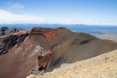 Tongariro National Park (hollieboy) Tags: tongariro nationalpark newzealand mountains mountain volcano volcanoes volcanic rock rugged nature outside red mt ngauruhoe