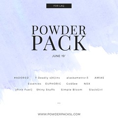 Powder Pack for LAQ! (Tarani Tempest) Tags: secondlife shinystuffs laq powderpack