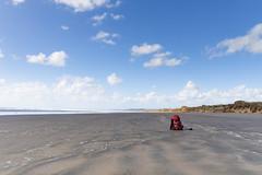 NZ-9536 (hollieboy) Tags: beach travel hiking backpack travelling traveling beachbum sky sand blue outside nature sea 99milebeach newzealand