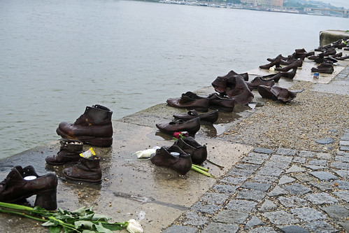 Shoes on the Danube Bank Memorial - Budapest