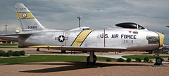 F-86H Sabre (fighter plane) 5 (James St. John) Tags: