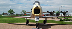 F-86H Sabre (fighter plane) 2 (James St. John) Tags: