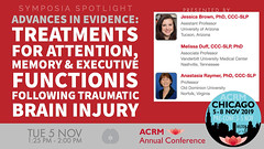 #ACRM2019 Symposia: Brain Injury Brown #603252 (ACRM-Rehabilitation) Tags: acrmprogressinrehabilitationresearchconference acrmconference acrm acrm|americancongressofrehabilitationmedicine annualconference medicalconference medicaleducation continuingeducationcredits cmeceu progressinrehabilitationresearch symposia symposium interdisciplinary interprofessional chicago hiltonchicago acrm2019 rehabilitationresearch rehabilitation evidencebased scientificresearch