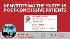 #ACRM2019 Symposia: Brain Injury Wicks #636459 (ACRM-Rehabilitation) Tags: acrmprogressinrehabilitationresearchconference acrmconference acrm acrm|americancongressofrehabilitationmedicine annualconference medicalconference medicaleducation continuingeducationcredits cmeceu progressinrehabilitationresearch symposia symposium interdisciplinary interprofessional chicago hiltonchicago acrm2019 rehabilitationresearch rehabilitation evidencebased scientificresearch