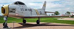 F-86H Sabre (fighter plane) 1 (James St. John) Tags: