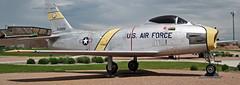 F-86H Sabre (fighter plane) 4 (James St. John) Tags: