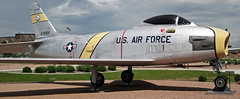 F-86H Sabre (fighter plane) 3 (James St. John) Tags: