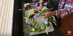 DIY Home Wreath Sign - Youtube Video (momstuffcoffeeshop) Tags: youtube home wreath sign door entry diy family moms mom stuff tips advice parenting